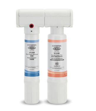 美国怡口净水器830VC直饮机家用净水机厨房除铅活性炭滤芯过滤器